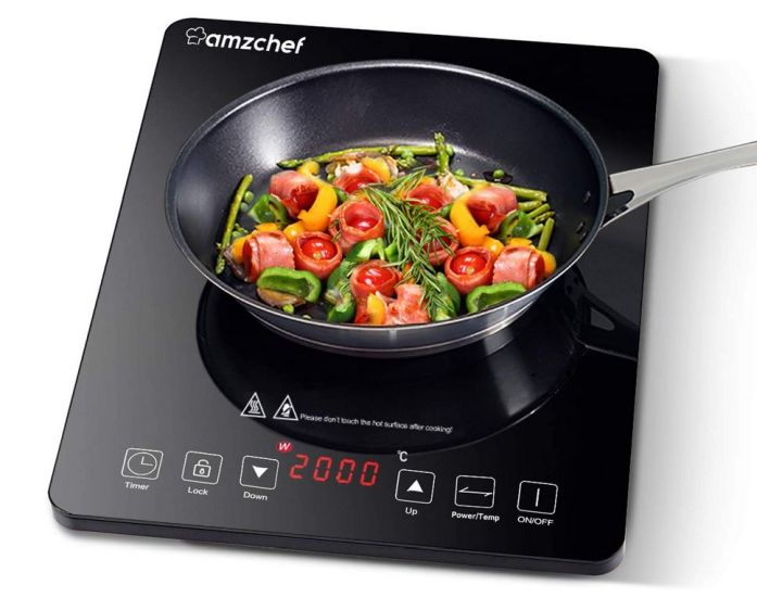 table de cuisson portable amzchef